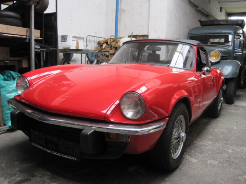 triumph spitfire 1500 mk iv rot classic cars peter ille austin healey triumph mg jaguar. Black Bedroom Furniture Sets. Home Design Ideas